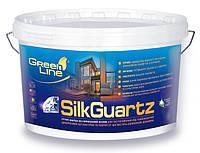 Грунт-краска на силиконовой основе SILK GUARTZ, 10л