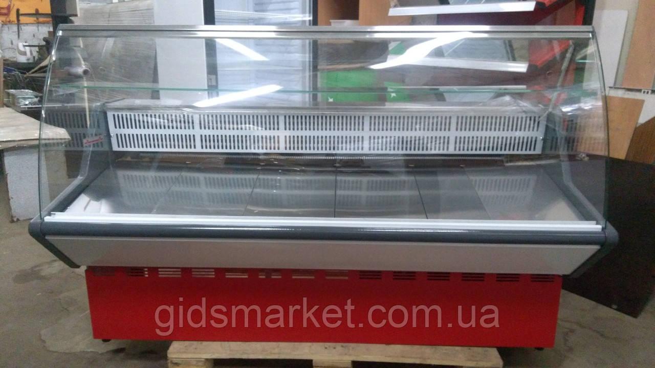 Гастрономическая витрина ВХВ-1.8 м. бу, витрина холодильная, витрина.
