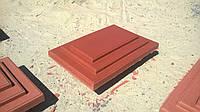 """Колпак бетонный на столб забора 310х450х65мм """"Ступенька"""""""