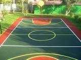 Бесшовные покрытия для спортивных и детских площадок, полимерные полы
