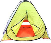 Палатка зимняя для зимней рыбалки кемпинговая туристическая походная Winter-5 Ranger желтая