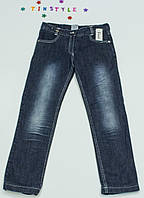 Утепленные  джинсы на флисе на девочку 140 см
