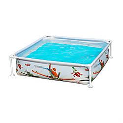 Каркасный бассейн 122-122-30 смбасейн Intex 57174. Детский Small Frame