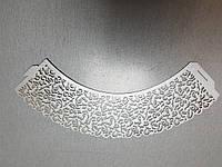 """Накладки для маффинов """"Ажурные ленты""""№301 10шт (цвет серебро)(код 06150)"""