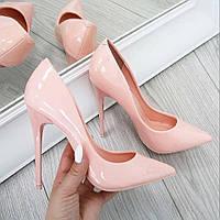 Лодочки туфли пудра,пинк,нежно розовые классические туфли