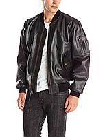Оригинальная кожаная куртка MA-1 Alpha Industries (Альфа индастриз)