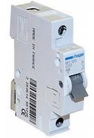 Автоматический выключатель Hager In=10 А, 1п, С, 6 kA, 1м (MC110A)