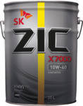 Моторное масло ZIC X7000 AP 10W-40  (20 л.)