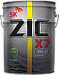 Моторное масло ZIC X7 10W-40 Diesel (20 л) Бывший ZIC 5000 10W-40
