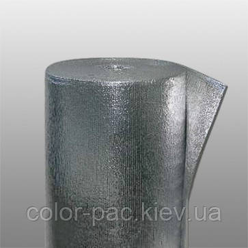 Полотно ППЭ 2 мм. фольгированное двухстороннее (тип В)