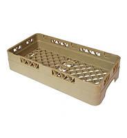 Ящик (Кассета) для столовых приборов на 1 отделение, 50х25х10 см. пластиковый бежевый Sunnex