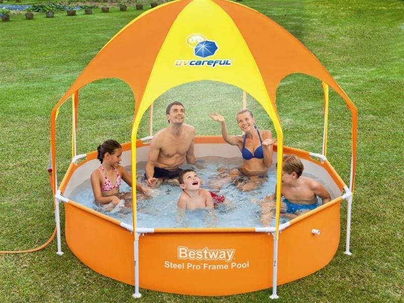 Каркасний круглий басейн Best Way 244-51 см Басейн
