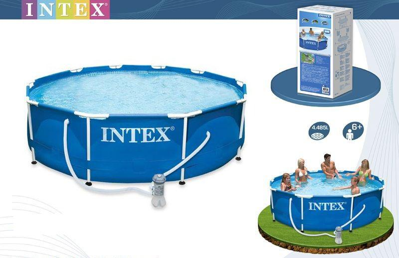 Каркасный круглый бассейн  305-76 смMETAL FRAME POOL Intex 28202 Басейн