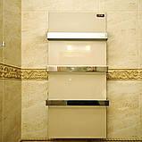 Керамический электрический полотенцесушитель Dimol Standart 07 кремовый, фото 4