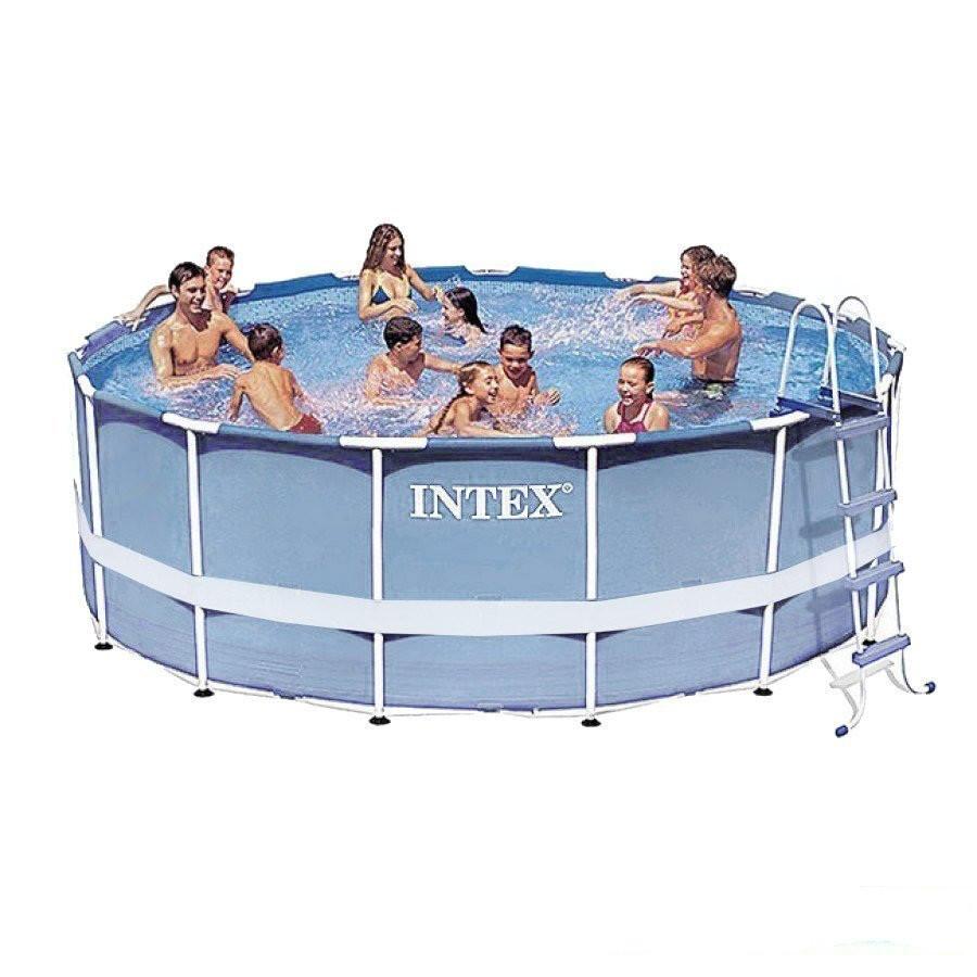 Каркасный бассейн Intex 28719. Сборный Prism Frame 366 x 99 см Басейн