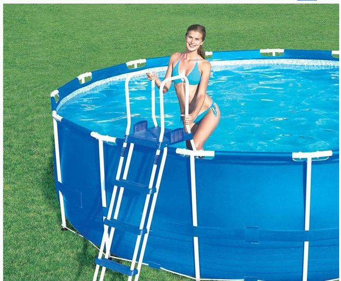 Каркасный бассейн 366-122 см Bestway 56088 Steel Pro Frame Басейн