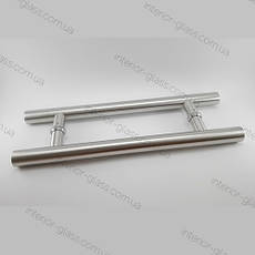 Ручка трубчатая HDL-633 (L=800 мм, м/о 625 мм) для стеклянных дверей