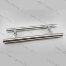 Ручка трубчатая круглая HDL-633 (L=800 мм) для стеклянных дверей