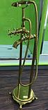 Смеситель напольный VERONIS Gold 02020, фото 2