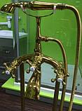 Смеситель напольный VERONIS Gold 02020, фото 4