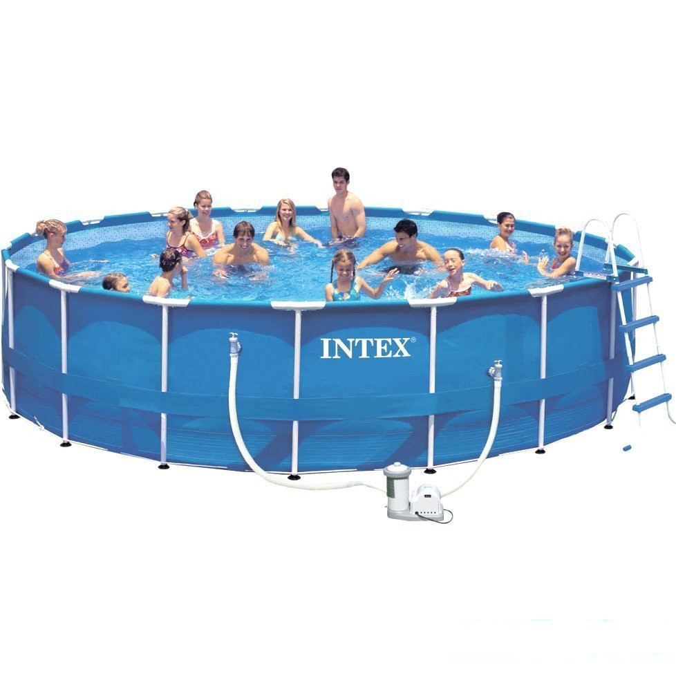 Каркасный бассейн басейн Intex 28252. Сборный Metal Frame 549 x 122 см