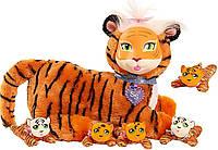 Мягкая игрушка Беременная тигрица с детками Just Play Surprise Plush, из США, фото 1