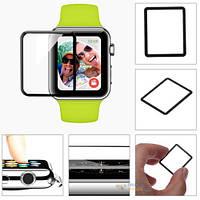 Защитное стекло 3d  для apple watch 38 мм