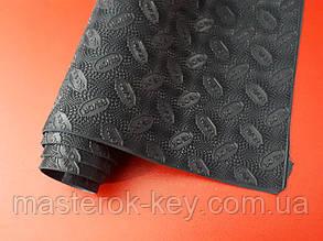 Резина подметочная листовая премиум качества Favor/Фавор 570*380*1,2мм Темно-синий