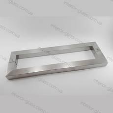Ручка трубчатая квадратная ST-636 (L=450 мм, м/о 420 мм) для стеклянных дверей