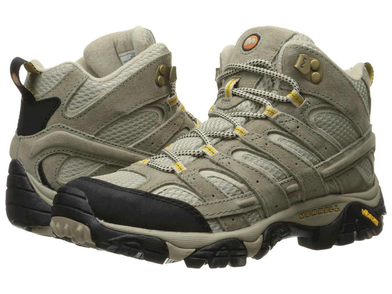 Ботинки Сапоги (Оригинал) Merrell Moab 2 Vent Mid Taupe — в ... fca188d9f4b9d