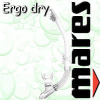 Трубка ERGO DRY для водного спорта (прозрачная)