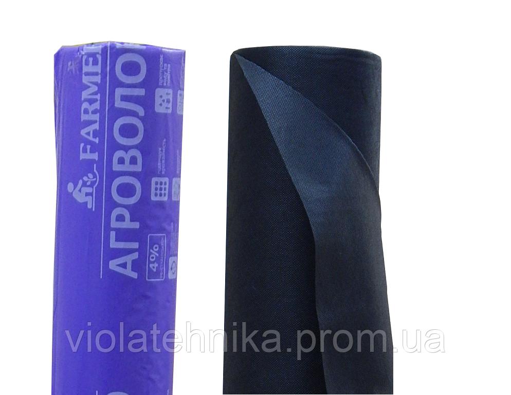 Агроволокно для мульчирования, плотность 50 г/м2, черное, рулон 3.2х100