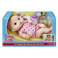 Кукла-Пупс Hasbro Baby Alive Luv 'n Snuggle Baby Doll Blond