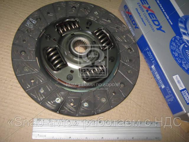 Диск сцепления SUBARU IMPREZA 2.0 94-00 (производство EXEDY) (арт. FJD024U), AGHZX