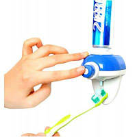 YK-911 Автоматический дозатор зубной пасты держатель для домашнего интерьера Синий и белый