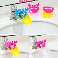 Детское приспособление для мытья рук для раковины ванной комнаты Случайный Цвет