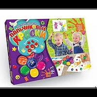 Детские Пальчиковые Краски PK-01-01 Danko Toys 7 цветов, Набор красок пальчиковые 7 цветов