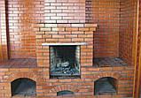 Термостійка суміш для печей і камінів ПП-018, 20кг, фото 2