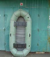 """Брендовая лодка надувная резиновая Лисичанка """"Байкал"""" 2 местная с увеличенным баллоном. Доступно. Код: КГ3083"""