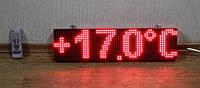 Цифровой светодиодный термометр