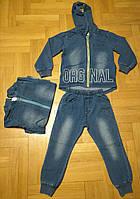 Трикотажный костюм 2 в 1 под джинс для мальчика оптом, Buddy boy, 1-5 лет,  № 5385