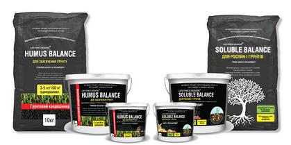 Растворимый гумат Soluble Balance, Почвенный кондиционер Humus Balance