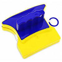 Магнитный двухсторонний стеклоочиститель для кухни ванной комнаты с кистью на поверхность инструменты для очистки синий и оранжевый