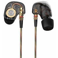 КЗ-съел 3.5 мм в-ухо наушники с микрофоном HiFi стерео наушники супер бас Спорт Гарнитура для iPhone / Samsung Чёрный