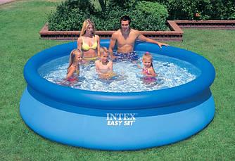 Надувной Семейный бассейн Easy Set Intex 28120 рр 305 х 76 см Басейн