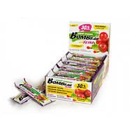 BomBBar Slim протеиновый батончик Клюква и ягоды годжи (Гуарана), фото 3
