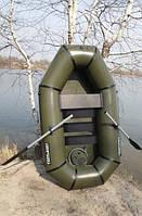 """Удобная и вместительная надувная лодка ПВХ """"Язь"""" – 1,5 Лисичанка с твердым полом. Доступная цена. Код: КГ3085"""
