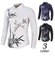 Рубашка мужская с орнаментом