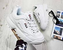 6da91f41092873 Мужские кроссовки Fila Disruptor Low ll 1010262 1FG White купить в ...
