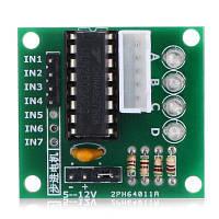 ULN2003 Модуль платы привода электродвигателей Зелёный